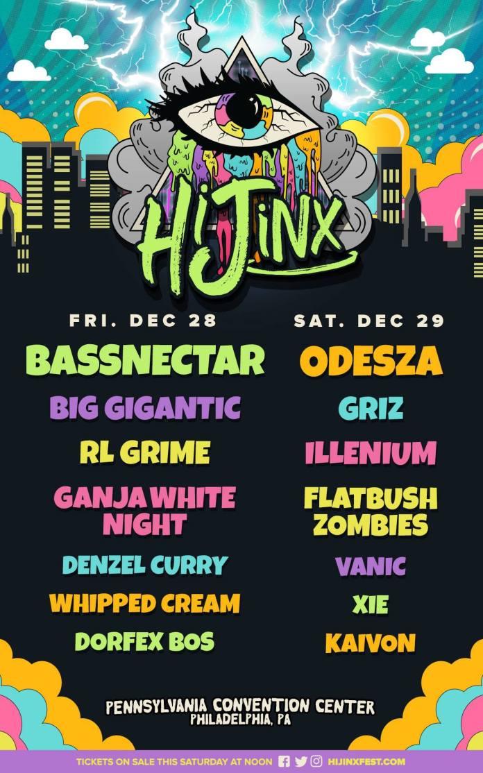 hijinx 2018 lineup