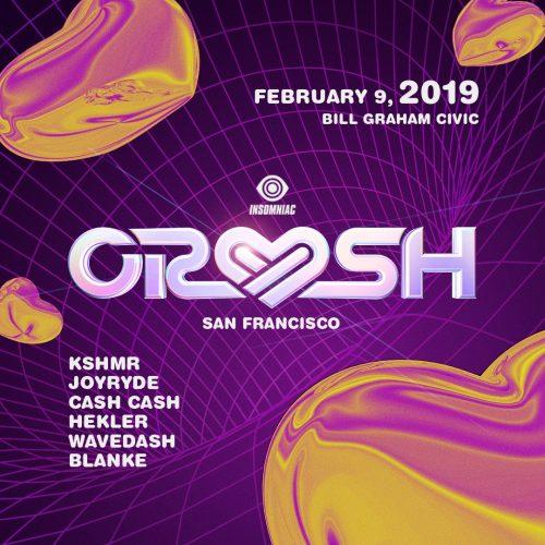 Crush San Francisco 2019 Lineup