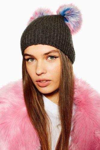 Pom Pom beanie snowglobe fashion
