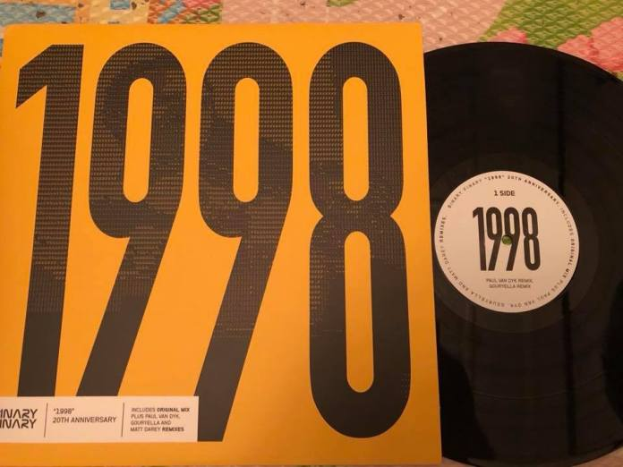 Binary Finary vinyl