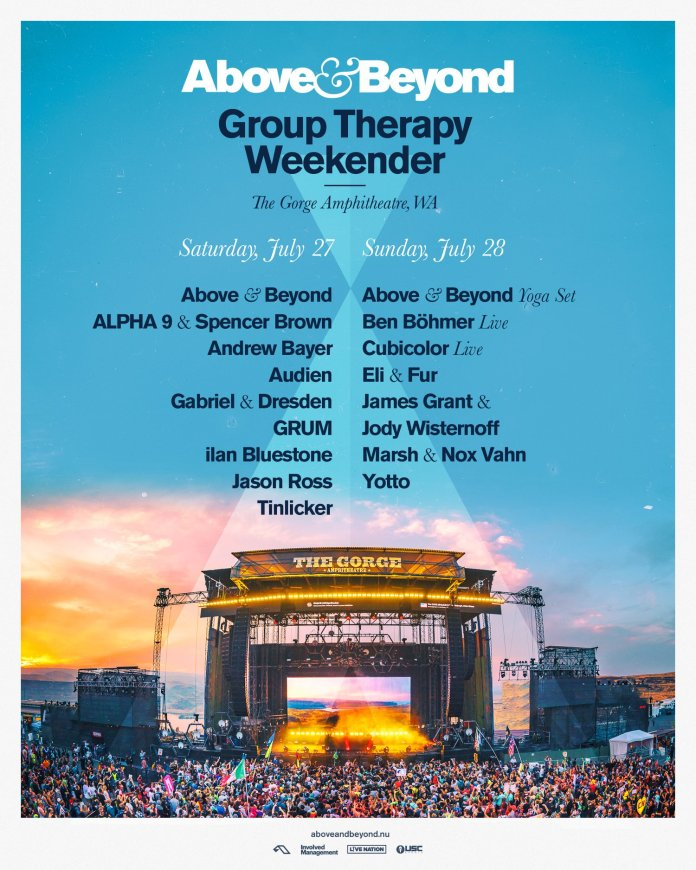 Group Therapy Weekender 2019 Lineup