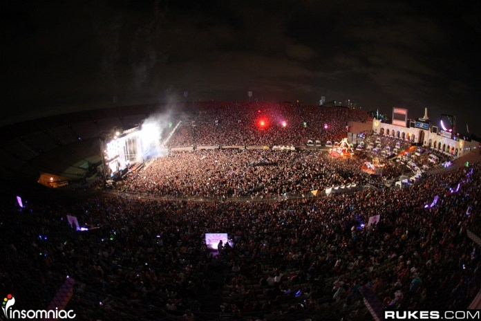 EDC LA 2010 Arena View