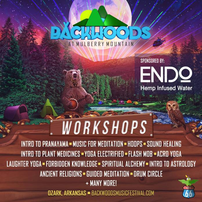 Backwoods 2019 Workshop Lineup