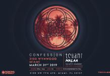 CONFESSION Miami Music Week 2019 Lineup