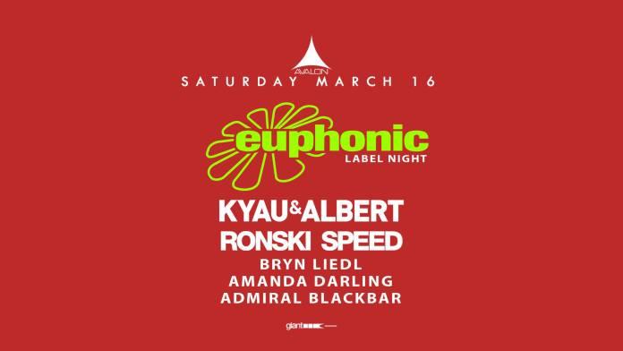 Euphonic Label Night Avalon Hollywood