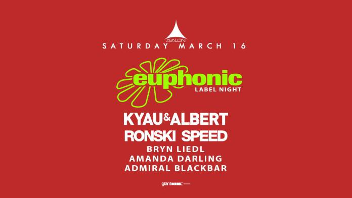 Euphonic Label Night Avalon Hollywood