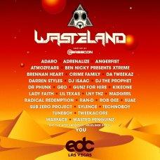 EDC Las Vegas 2019 Lineup - wasteLAND