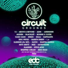 EDC Las Vegas 2019 Lineup - circuitGROUNDS
