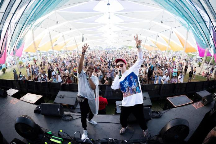 Holly at Coachella 2019 Do LaB Stage