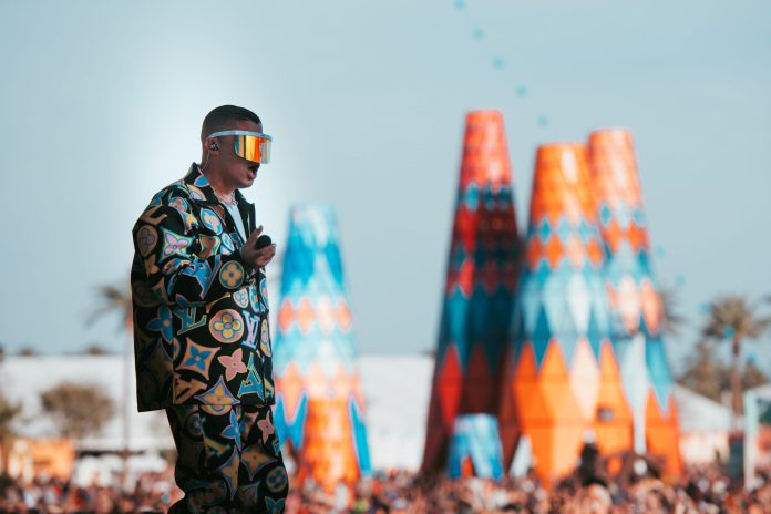 Bad Bunny, Coachella 2019 Weekend 1, Crowd, Main Stage, Sarbale Ke