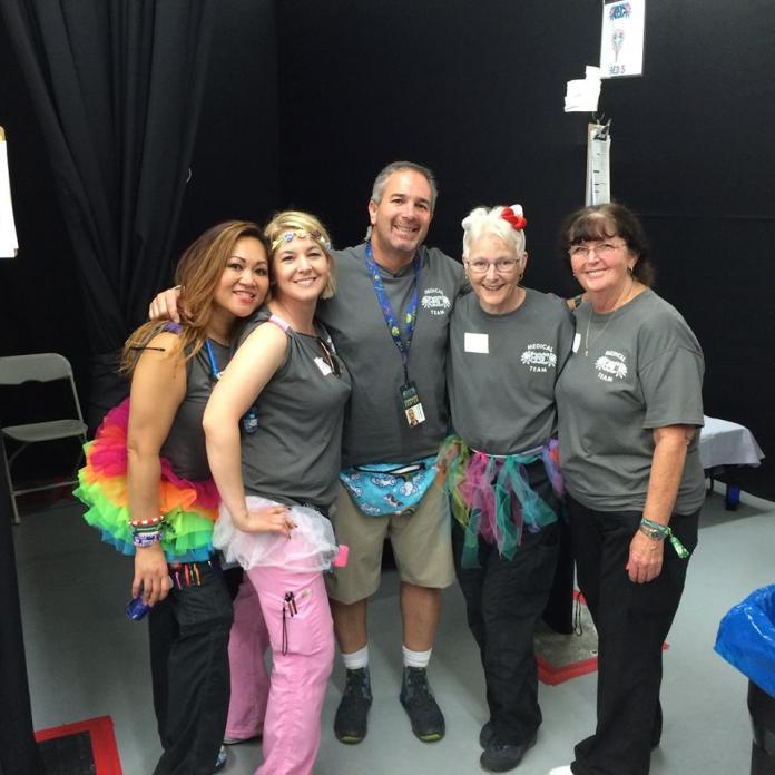 EDC Las Vegas 2017 Medical Team