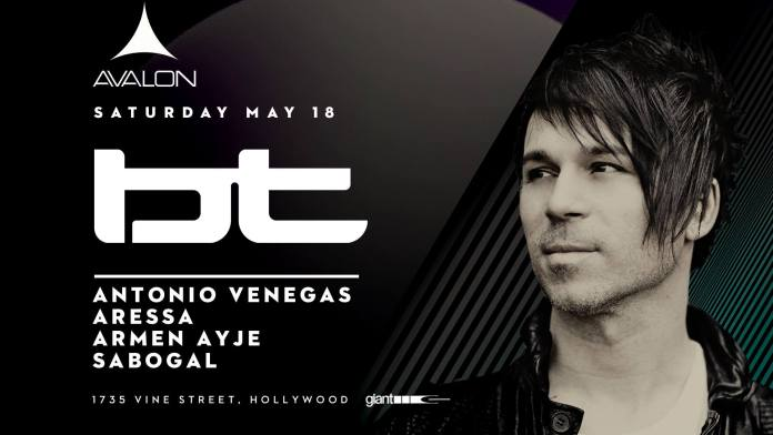 BT at Avalon Hollywood