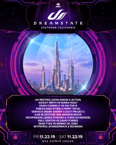 Dreamstate SoCal 2019 Lineup Announcement 5