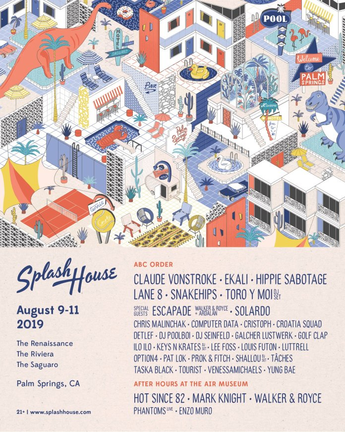 Splash House August 2019 Lineup