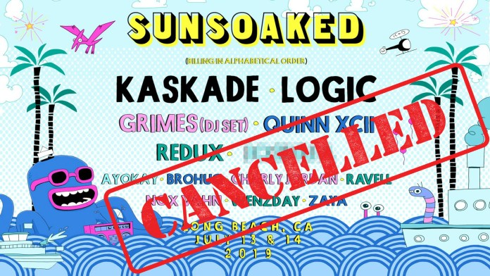 Sun Soaked 2019 Cancelled