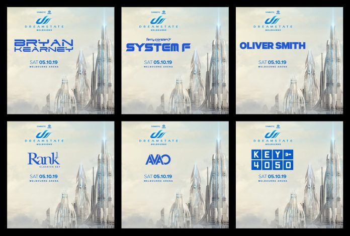 Dreamstate Melbourne 2019 Lineup