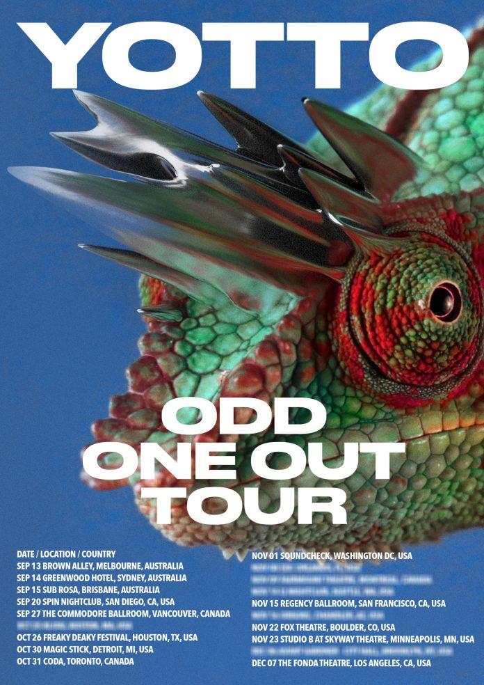 Yotto Odd One Out Tour 2019