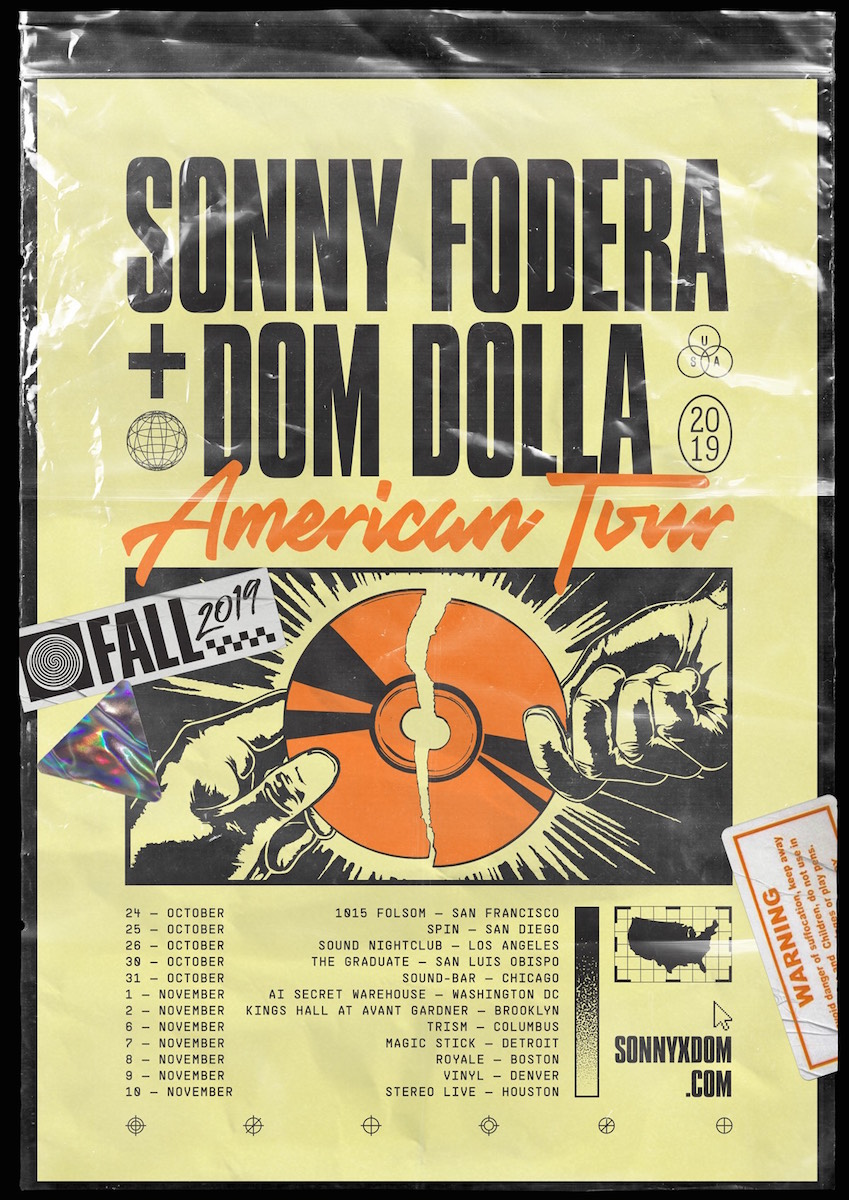 Sonny X Dom American Tour | EDM Identity