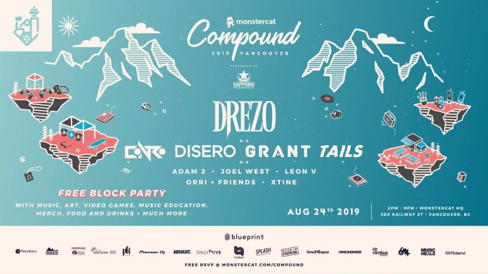 Monstercat Compound Flyer