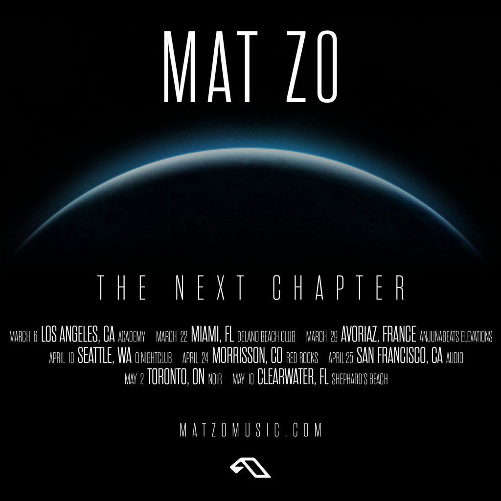 Mat Zo - The Next Chapter Tour - 2020 Dates