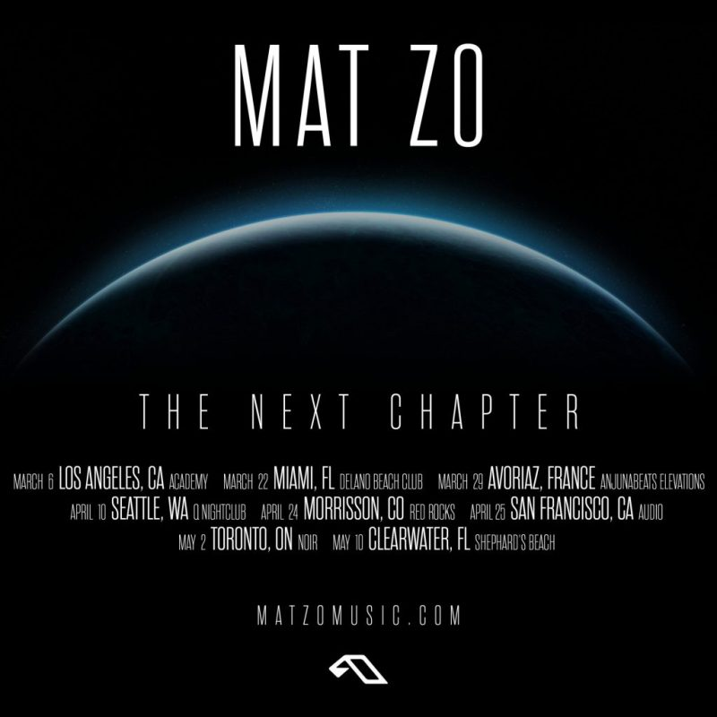 Mat Zo - The Next Chapter Tour - 2020 Dates
