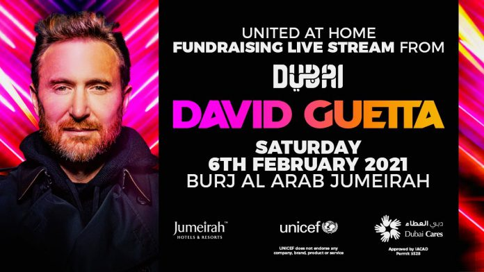 David Guetta heads to Dubai for a historic fourth United At Home stream ile ilgili görsel sonucu