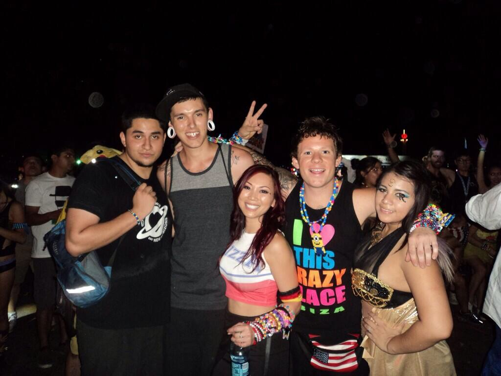 Maxx Torres, Maxx with 2Xs, rave photos