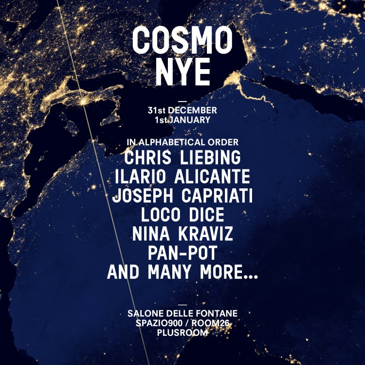 Cosmo Festival Lineup
