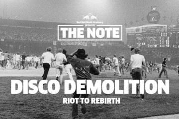 the note disco demolition