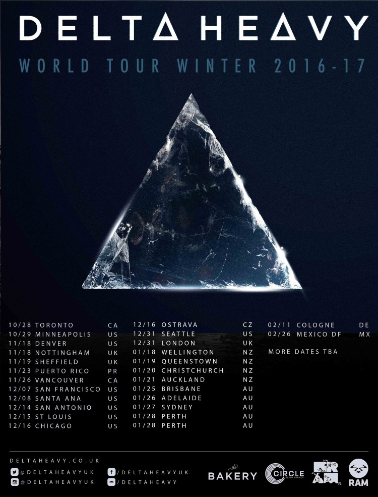 Delta Heavy World Tour