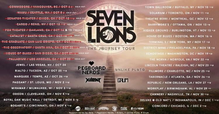 Seven Lions Tour