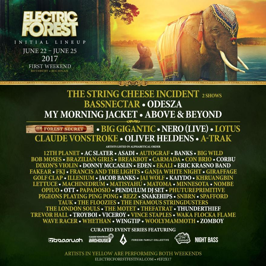 Electric Forest Weekend One 2017