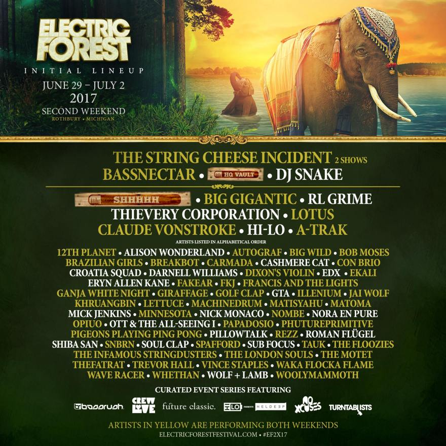 Electric Forest Weekend Two 2017