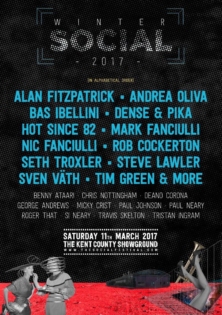 Winter Festival 2017 Lineup