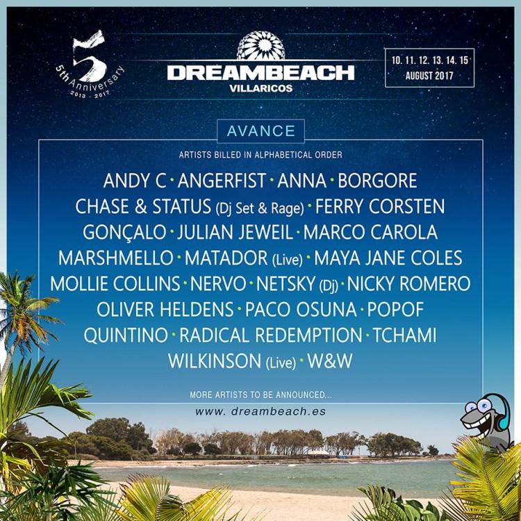 Dreambeach Festival Lineup