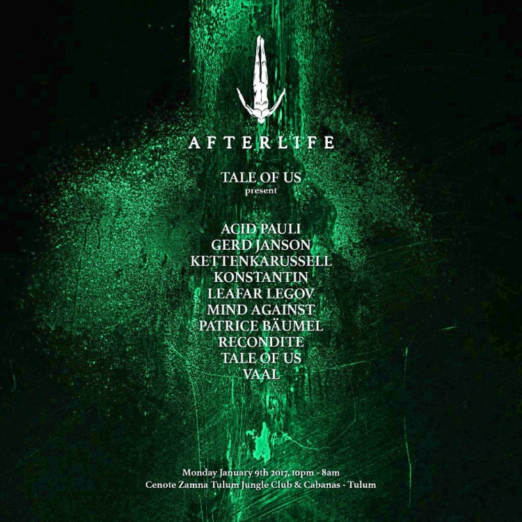 Afterlife Lineup