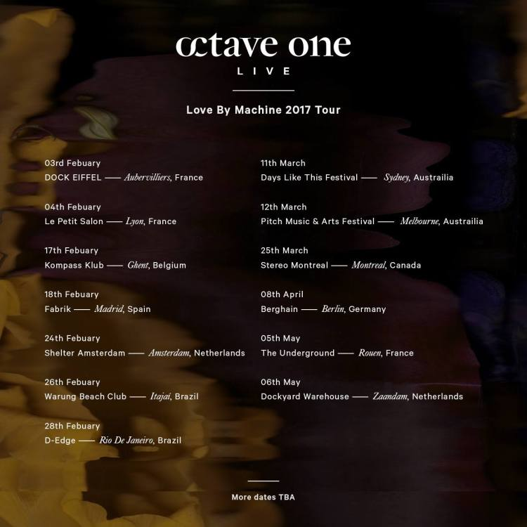 Love By Machine Tour