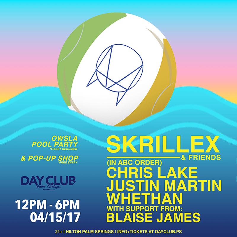 Skrillex Coachella Flyer