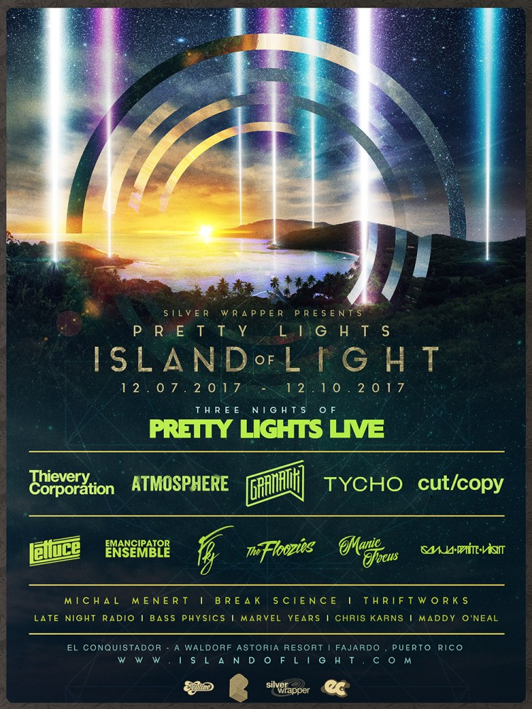 Island of Light Flyer