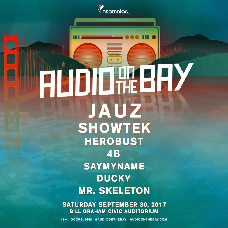Audio on the Bay 2017 Flier