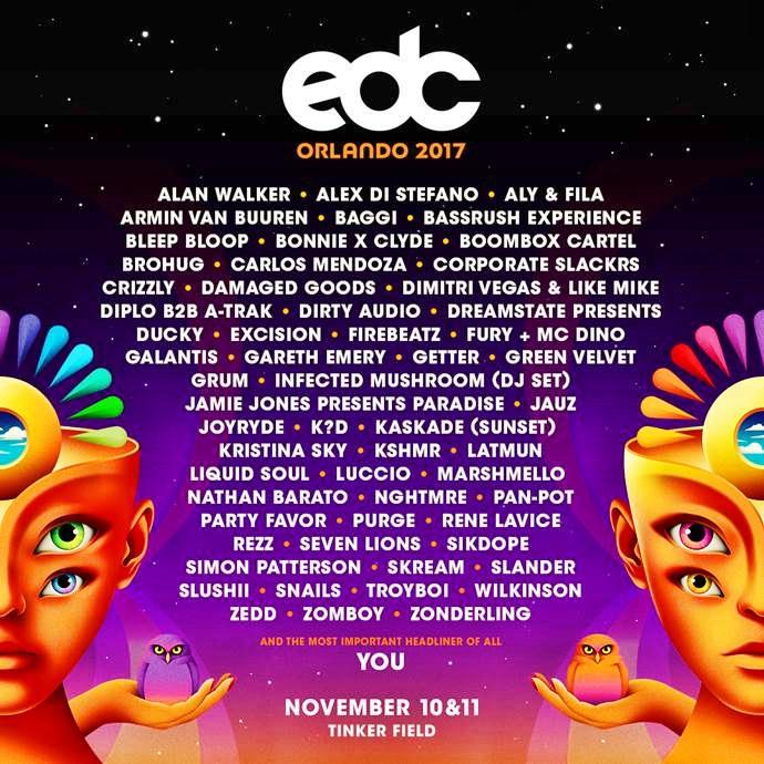 EDC Orlando Flier