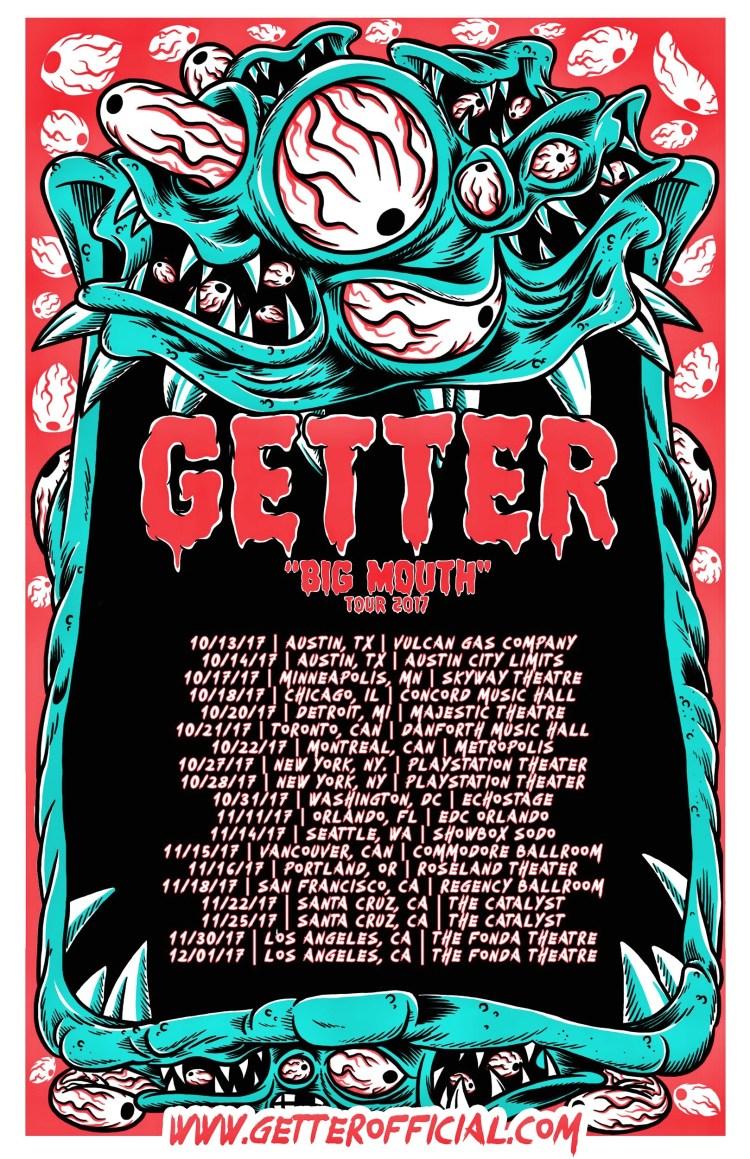 Getter 2017 Tour Flier