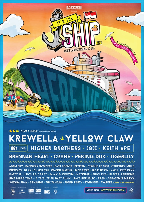It's The Ship 2017 Flier