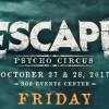 escape psycho circus single day tickets sale