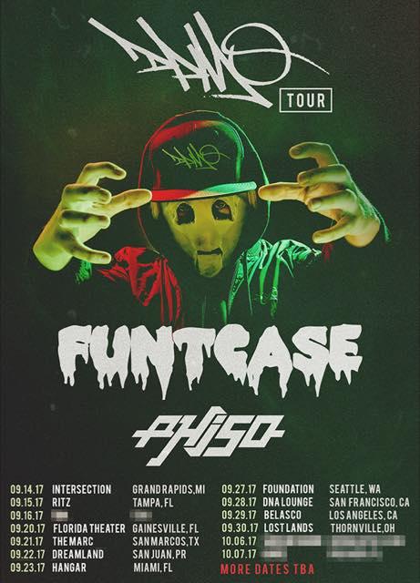 FuntCase - DPMO Tour Poster