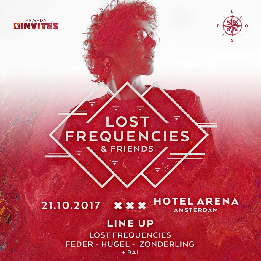 Lost Frequencies 2017 Flier
