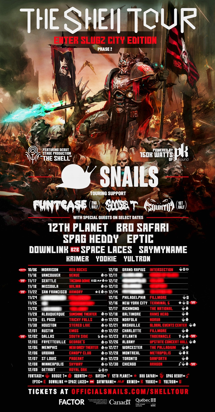 Snails-The-Shell-Tour-Phase-2-Flyer