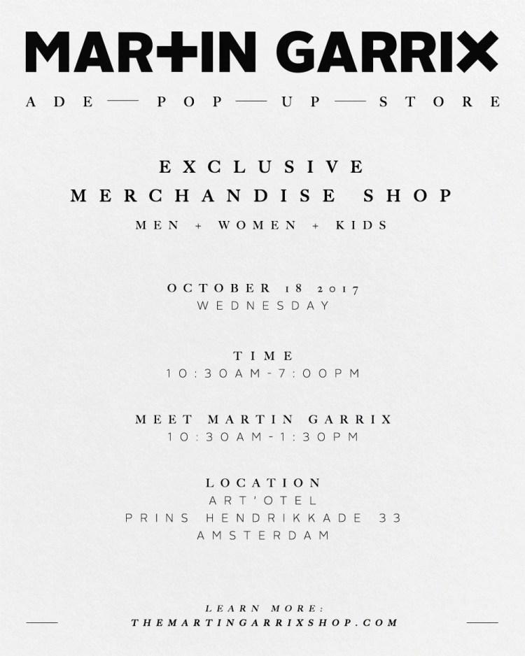 Martin Garrix ADE 2017 Pop Up