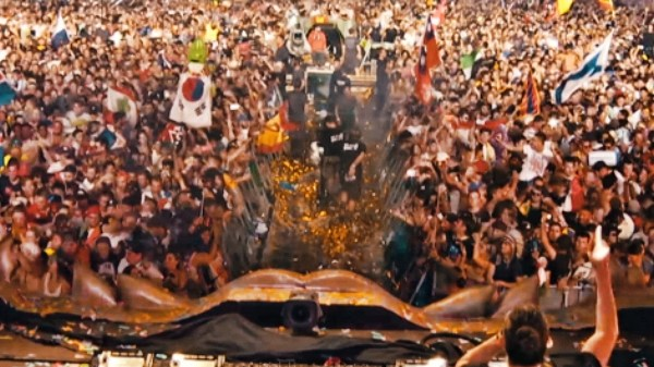dimitri vegas like mike wandw crowd control official music video
