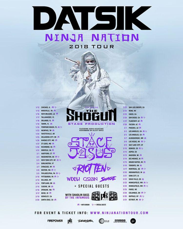 Ninja Nation 2018 Tour